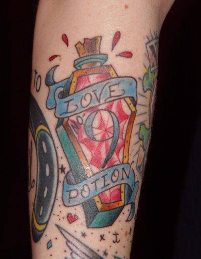 Annette LaRue tattoos